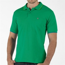 Addict Mens Surplus Polo Golf Green