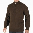 Ben Sherman Mens Chalice 1/4 Zip Chunky Knit Top Roulette